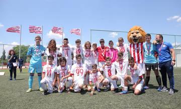 Οι νικήτριες ομάδες στο 7ο Πρωτάθλημα Σχολών του Ολυμπιακού