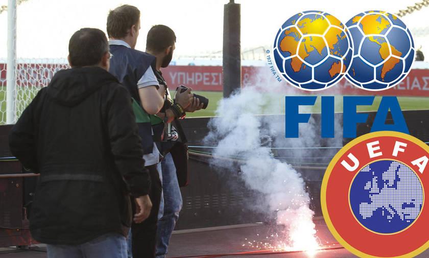 Τρεις παρατηρητές FIFA και UEFA στο ΟΑΚΑ