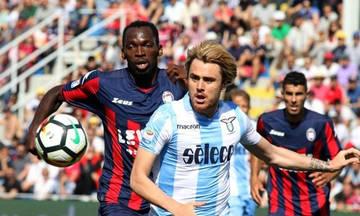 «Σκόνταψε» η Λάτσιο και θα πρέπει να περιμένει για το Champions League