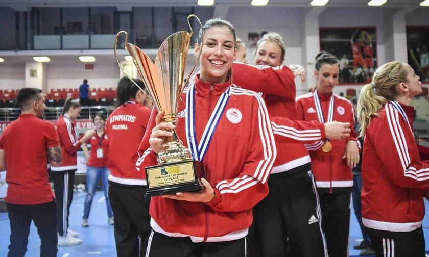 Τέλος η Χαρά Παπαδοπούλου από τον Ολυμπιακό