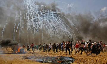 Μακελειό στη Γάζα: 52 νεκροί, 900 τραυματίες (vid)