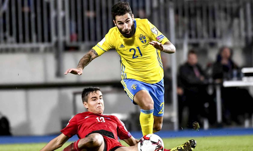 O Ντουρμάζ με τη Σουηδία στα τελικά του Μουντιάλ