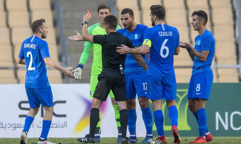 Ήττα με 2-0 της Εθνικής από τη Σαουδική Αραβία