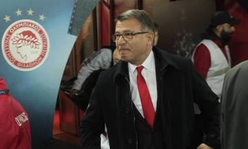 Ο Λεμονής στην ΕΡΤ για πρώτη φορά μετά την αποχώρηση του από τον Ολυμπιακό