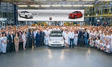 Το νέο Fiat 500 έφθασε τα 2 εκατ. αυτοκίνητα