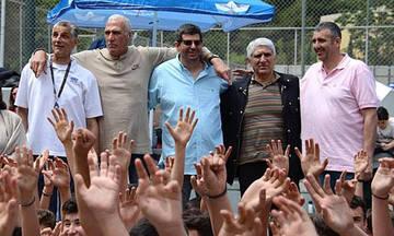 Τουρνουά φιλίας και αλληλεγγύης διοργανώνει η Εθνική του 1987