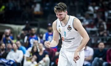 Ο Λούκα Ντόντσιτς αναδείχθηκε MVP της Ευρωλίγκα
