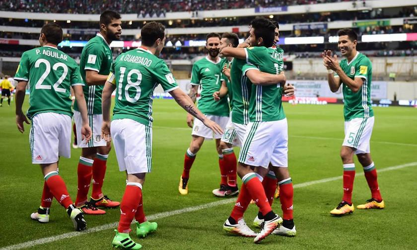Μουντιάλ 2018: Στους 26 παίκτες η προεπιλογή του Μεξικού