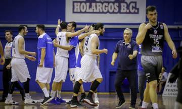 Πρώτη φορά ο Χολαργός στην Basket League