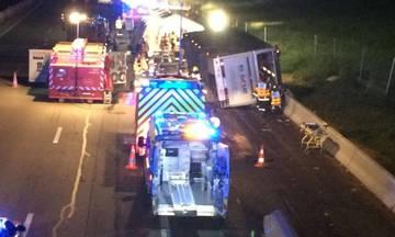 Γαλλία: Τρεις οπαδοί νεκροί και 14 τραυματίες από ανατροπή λεωφορείου