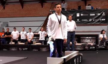 Πρωταθλητής Ευρώπης στους νέους ο Αθανάσιος Βαγενάς