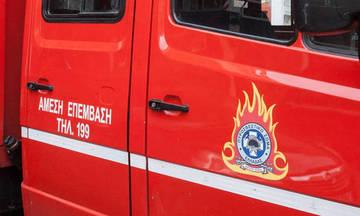 Στις φλόγες φορτηγό στην Αττική Οδό- Κλειστή η έξοδος προς Ελευσίνα
