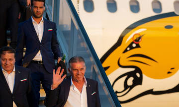 Μουντιάλ 2018: Το Ιράν η πρώτη ομάδα που έφτασε στη Ρωσία
