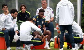Μουντιάλ 2018: τραυματίστηκε ο Φρεντ, αγχώθηκε η Βραζιλία