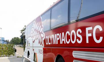 Εντυπωσιακά ανακαινισμένο το πούλμαν του Ολυμπιακού (pic)