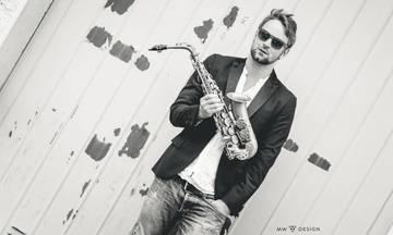 Ο Max the Sax στο Gazarte