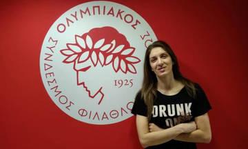 Η Σπυριδοπούλου ανανέωσε με τον Ολυμπιακό: «Για το νταμπλ ξανά»