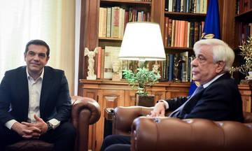 EKTAKTO: Συμφωνία για το Σκοπιανό ανακοίνωσε ο Τσίπρας στον Παυλόπουλο