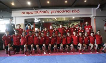 Προπόνηση στο Kick Boxing στο Καραϊσκάκη για την Κ-11!