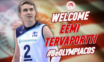 Ανακοίνωσε τον Τερβαπόρτι ο Ολυμπιακός