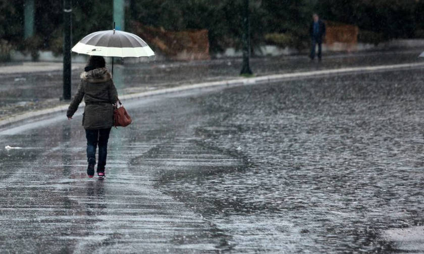 Βροχές στα βόρεια, αίθριος ο καιρός στις άλλες περιοχές
