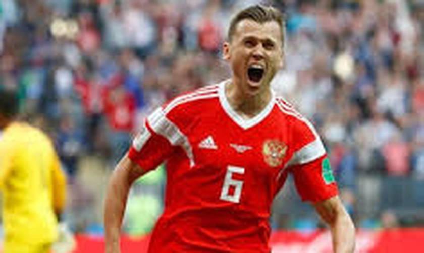 Το σλάλομ του Τσερίσεφ για το 2-0 της Ρωσίας (vid)