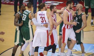 Ο Ρήγας Δάρδαλης στη μετάδοση του 5ου τελικού της Basket League