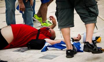 Επεισόδια και τραυματισμοί στο συλλαλητήριο (pics)