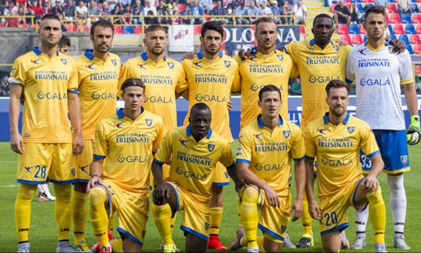 Η Φροζινόνε ανέβηκε στην Serie A
