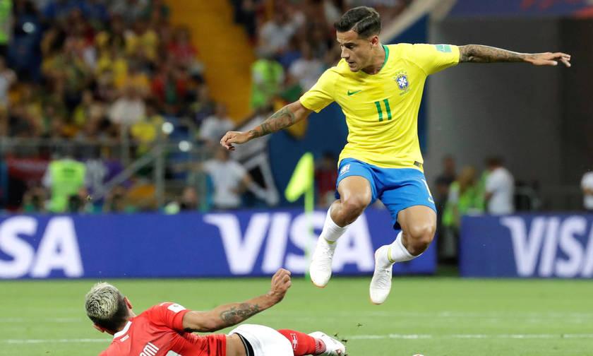 Το 1-0 της Βραζιλίας με... υπογραφή Κουτίνιο (vid)
