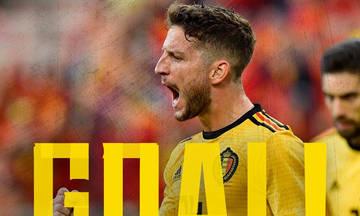 Το εντυπωσιακό γκολ του Μέρτενς για το 1-0 του Βελγίου (vid)