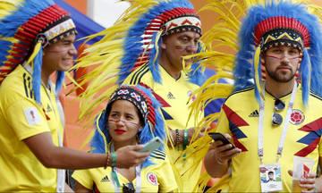 Κολομβία-Ιαπωνία: Οι 11αδες