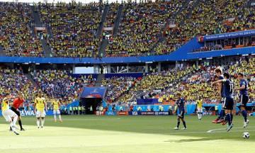 Κιντέρο και... 1-1 η Κολομβία (vid)