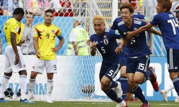 Τα highlights του αγώνα Κολομβία-Ιαπωνία 1-2 (vid)