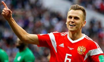 Τα highlights του αγώνα Ρωσία-Αίγυπτος 3-1 (vid)