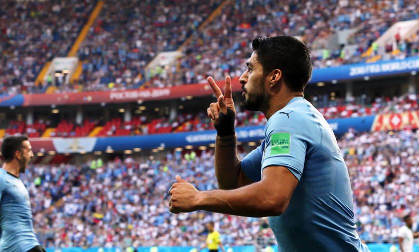Ουρουγουάη- Σαουδική Αραβία 1-0: «Δαγκωματιά» Σουάρες