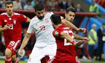 Τα highlights του αγώνα Ιράν-Ισπανία 0-1 (vid)