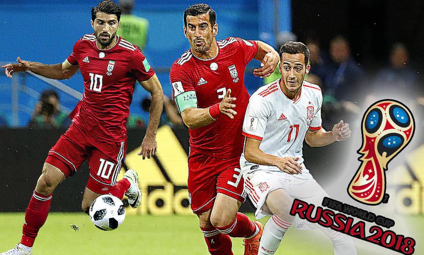 Ο έλεγχος των Ιρανών του Ολυμπιακού