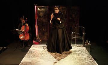 Αγγέλικα Νίκλη Σολωμού, η Διάφανη, του Περικλή Μοσχολιδάκη στο Θέατρο Βράχων