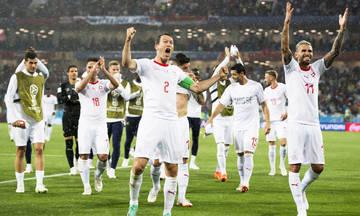 Τα γκολ από τον αγώνα Σερβία-Ελβετία 1-2