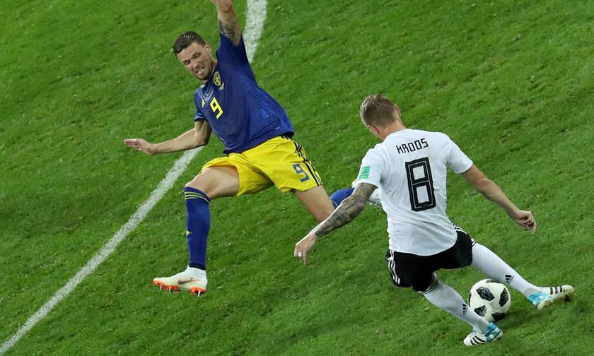 Γερμανία-Σουηδία 2-1: Και στο τέλος κερδίζουν οι Γερμανοί!