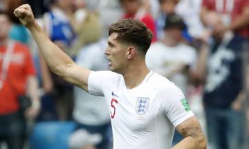 Κεφαλιά από... πέτρα: Ο Στόουνς το 1-0 της Αγγλίας (vid)
