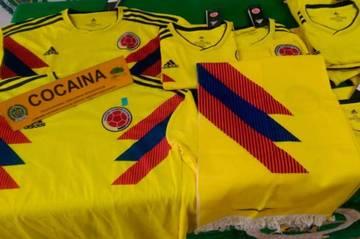 Βρέθηκαν εμφανίσεις της Κολομβίας εμποτισμένες με κοκαΐνη (vid)