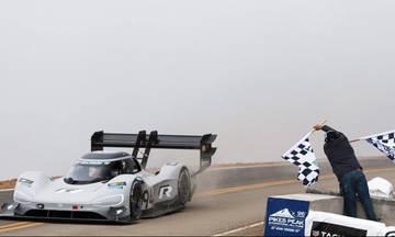 Ρεκόρ όλων των εποχών στο Pikes Peak από το ηλεκτρικό Volkswagen!