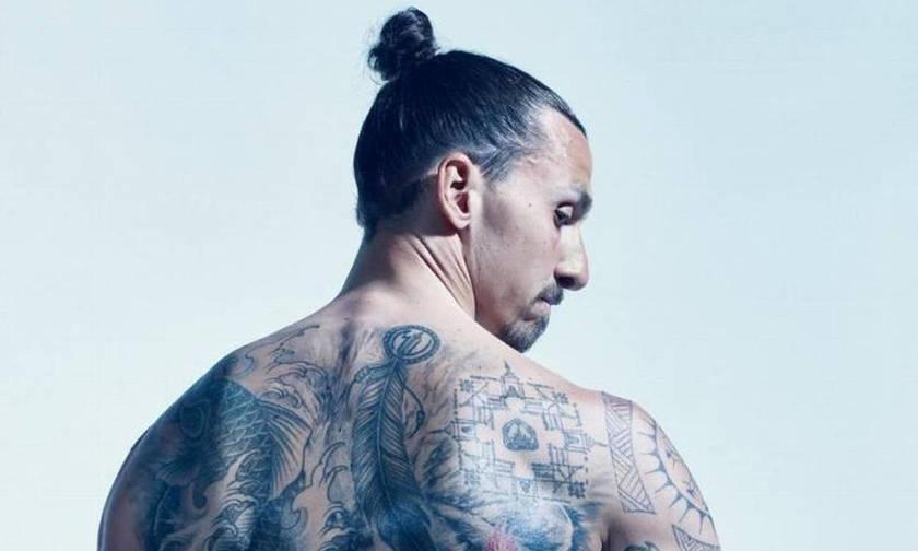 Ο Ζλάταν έκανε τατουάζ στα οπίσθια του και φωτογραφήθηκε (pics)