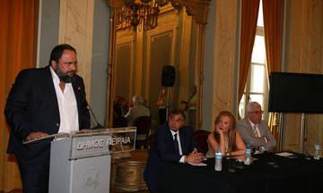 Βραβεύτηκε ο Βαγγέλης Μαρινάκης για την προσφορά του στην Τοπική Αυτοδιοίκηση