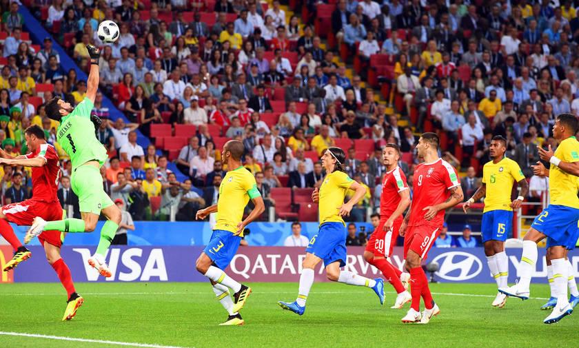 Σερβία-Βραζιλία 0-2: Καθάρισαν οι αμυντικοί