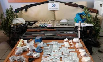 Εξαρθρώθηκε κύκλωμα ναρκωτικών στη Δυτική Αττική (pics)