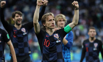 Κροατία-Δανία: Μόντριτς εναντίον Έρικσεν (11άδες, pics)