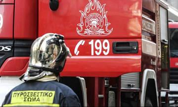 Φωτιά σε κτήριο στην Αθήνα